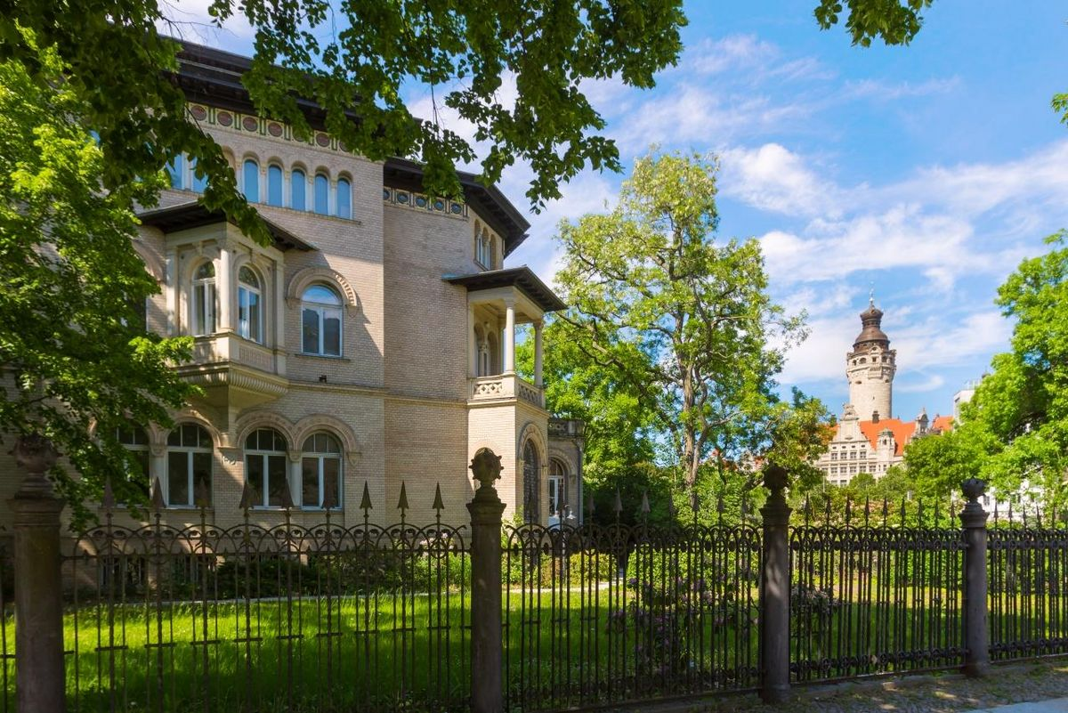 The Research Academy Leipzig's office is located at the Villa Tillmanns, which is located close to the city centre. Photo: Swen Reichhold